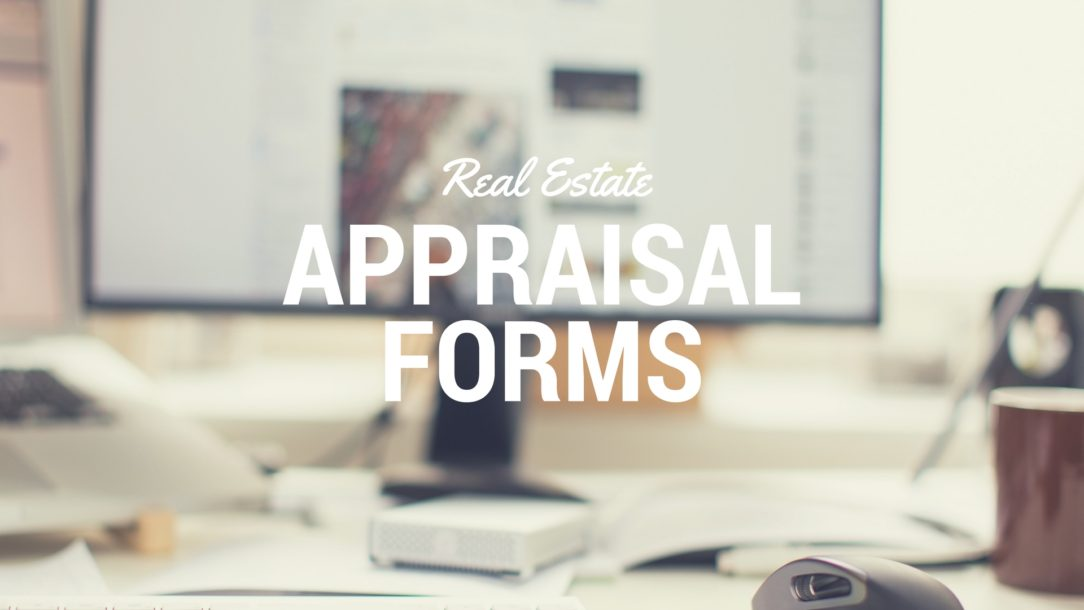 Real Estate Appraisal Forms