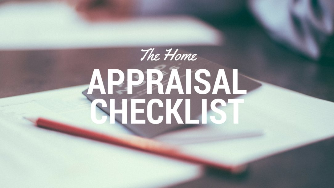 Home Appraisal Checklist