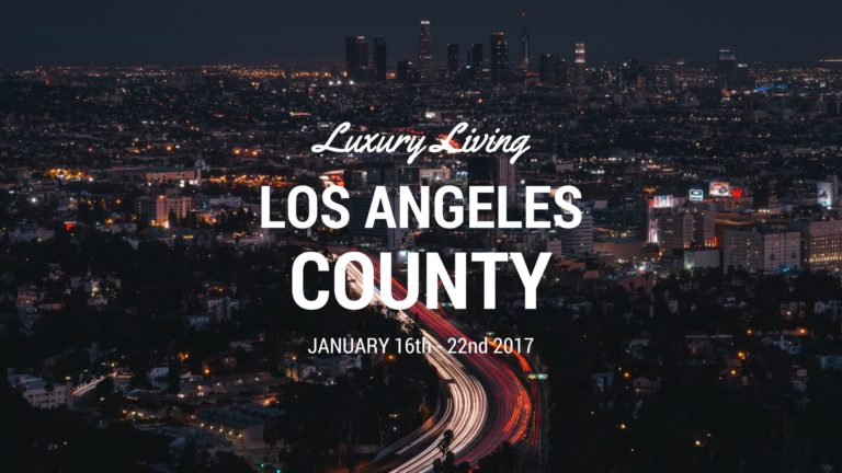 Luxury Living Los Angeles County