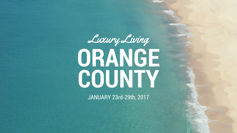 Luxury Living OC Jan 23-29