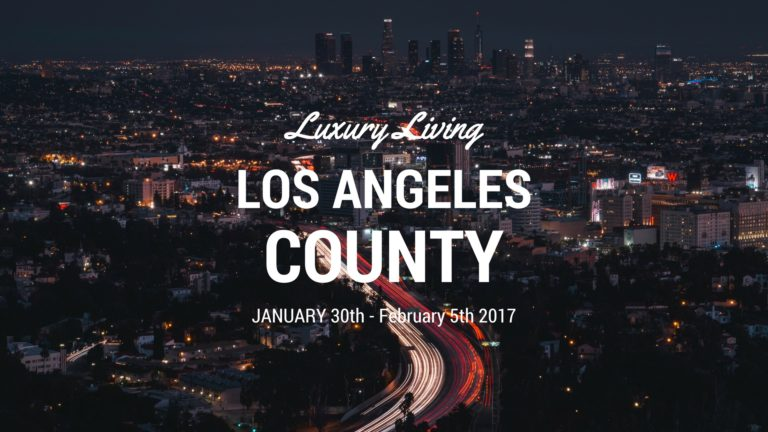 Luxury Living LA Jan 29 - Feb 5